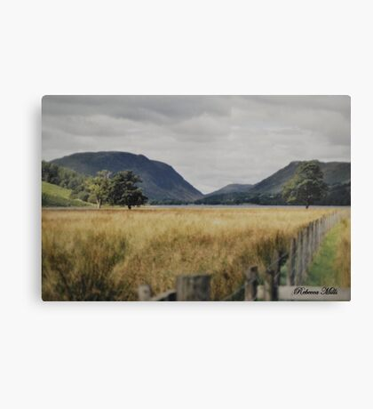 Buttermere in the Lake District, UK Canvas Print