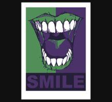 SMILE purple Kids Tee