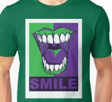 SMILE purple Unisex T-Shirt