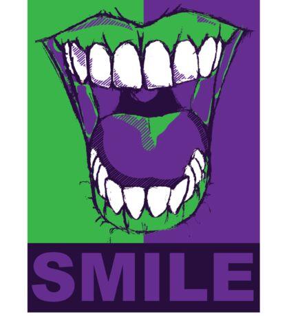 SMILE purple Sticker