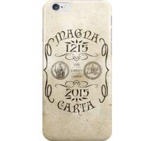 Magna Carta 800 Year Anniversary. iPhone Case/Skin