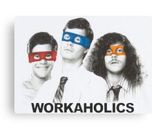 Workaholics tmnt Canvas Print