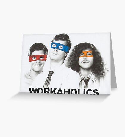 Workaholics tmnt Greeting Card