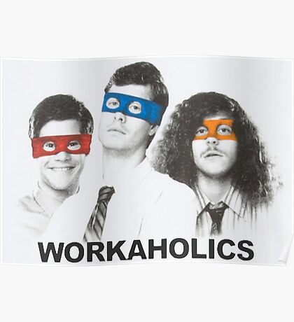 Workaholics tmnt Poster