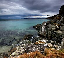 Turquoise Bay : Western Scotland by Angie Latham