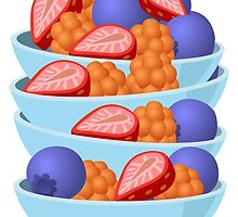 Fruit Bowls by kwg2200