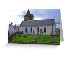 Pittenweem Parish Church Greeting Card