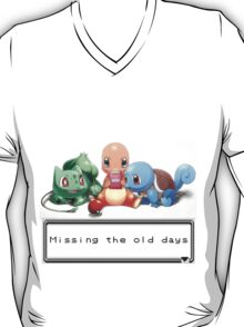"Pokemon ""Missing the old days"" T-Shirt"