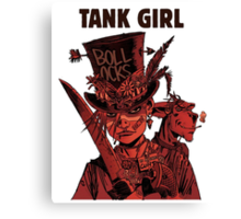 Tank Girl: Red Madness Canvas Print