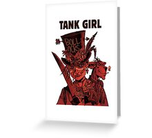 Tank Girl: Red Madness Greeting Card