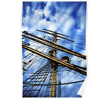 up the rigging  Poster