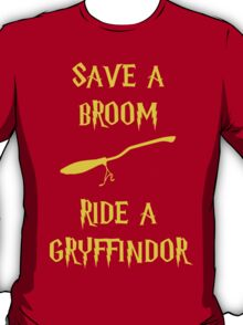 Harry Potter Ride a Gryffindor T-Shirt