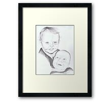 Luke and Peter Edwardes Framed Print