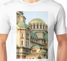 St Alexander Nevsky Orthodox Christian Cathedral in Sofia, Bulgaria Unisex T-Shirt