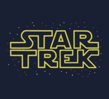 Star Trek - Star Wars parody Kids Clothes