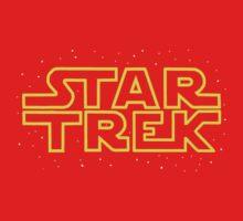 Star Trek - Star Wars parody Baby Tee