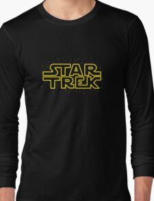 Star Trek - Star Wars parody Long Sleeve T-Shirt