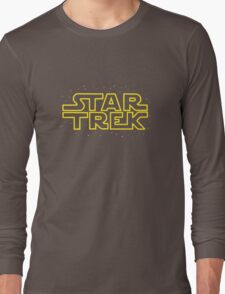 Star Trek - Star Wars parody Long Sleeve T-Shirt