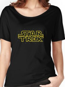 Star Trek - Star Wars parody Women's Relaxed Fit T-Shirt