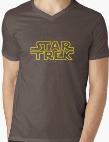 Star Trek - Star Wars parody Mens V-Neck T-Shirt