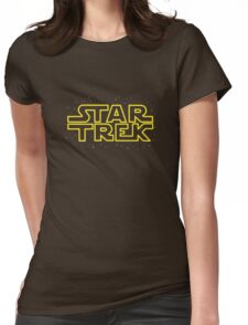 Star Trek - Star Wars parody Womens Fitted T-Shirt
