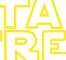 Star Trek - Star Wars parody Sticker