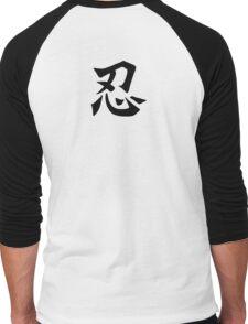 Tolerate in Black - Tshirt Men's Baseball ¾ T-Shirt