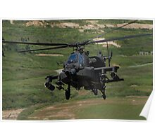 Apache Flying Back In Poster