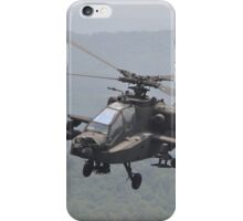 Apache Coming in for the Attack iPhone Case/Skin