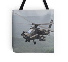 Apache Coming in for the Attack Tote Bag