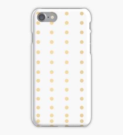 Gold Dot iPhone Case/Skin