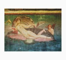 Naked Woman, Venus on Clamshell, Fresco, Pompeii Kids Clothes
