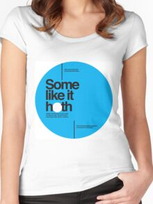 Star Wars: Some like it hoth Women's Fitted Scoop T-Shirt