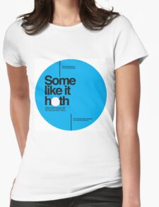 Star Wars: Some like it hoth Womens Fitted T-Shirt
