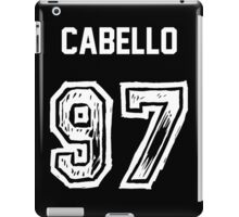 Cabello '97 (B) iPad Case/Skin