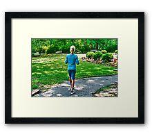 Walk in the Park 2 Framed Print