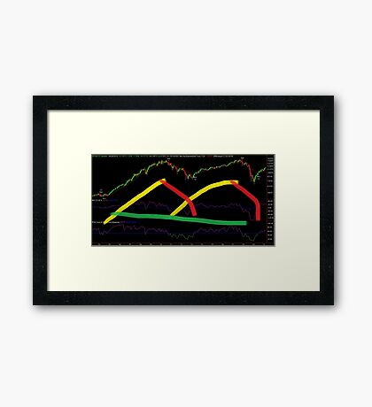 Black Graphic Framed Print