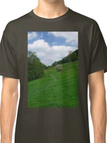 Pasture Land at Ashford-in-the-Water Classic T-Shirt