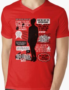 Archer - Cheryl Tunt Quotes Mens V-Neck T-Shirt