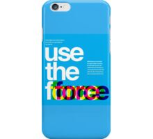 Star Wars: Use the Force iPhone Case/Skin