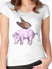 Butterpig Women's Fitted Scoop T-Shirt