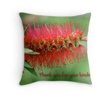 Thank you for your kindness Throw Pillow