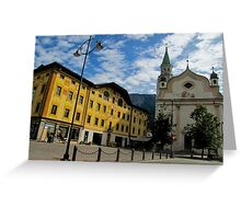 Cortina d'Ampezzo-Italy Greeting Card