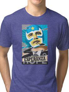Esperanza (Hope) Lucha libre Tri-blend T-Shirt