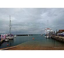 Yarmouth Harbour from the Slipway Photographic Print
