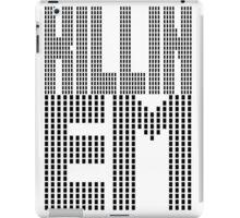 Killin Em [Oo Killem Response] | OG Collection iPad Case/Skin