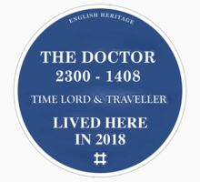 The Doctor lived here by Reece Ward
