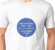 The Doctor lived here Unisex T-Shirt