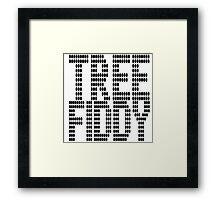 Tree Fiddy | OG Collection Framed Print