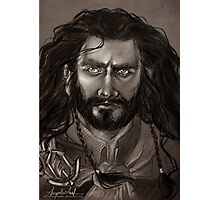 Thorin Oakenshield - DoS Photographic Print
